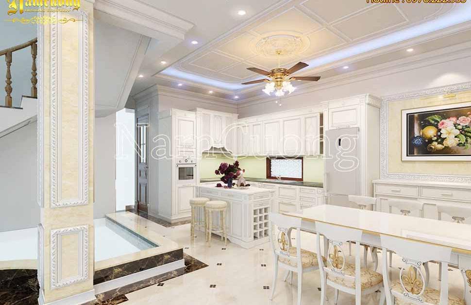 mẫu thiết kế phòng bếp đẹp, sang trọng