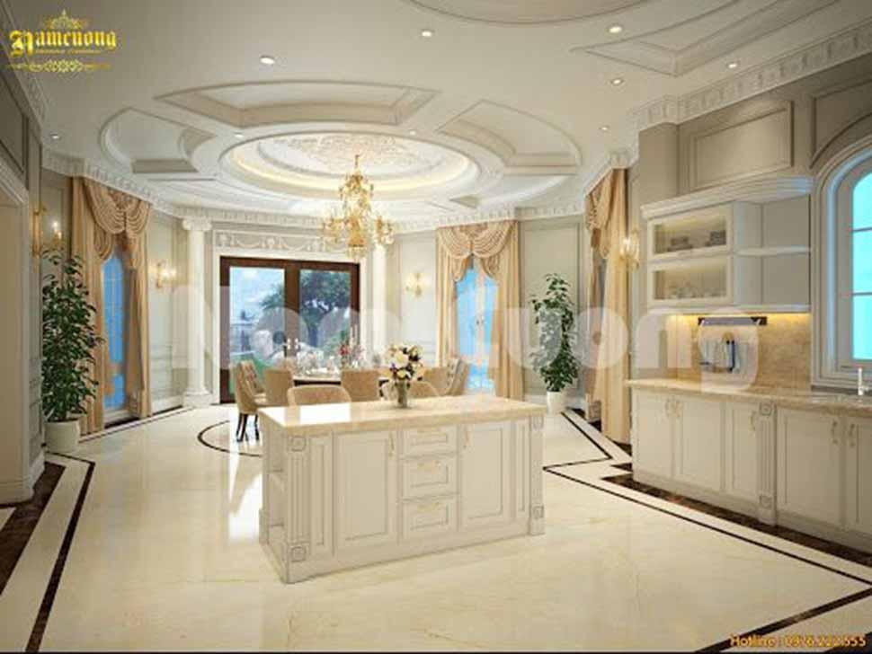 công ty thiết kế phòng bếp sang trọng