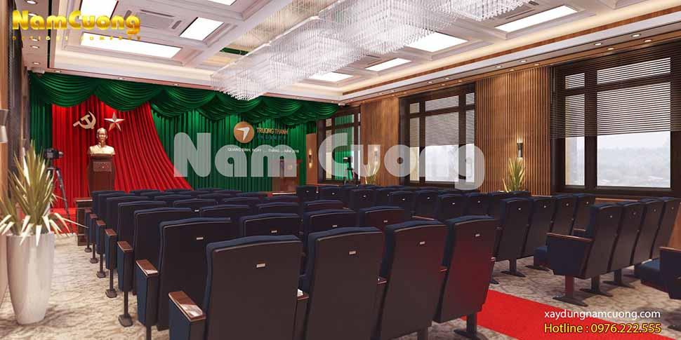 không gian phòng hội nghị