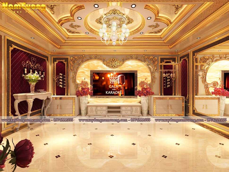 phòng karaoke cổ điển cao cấp