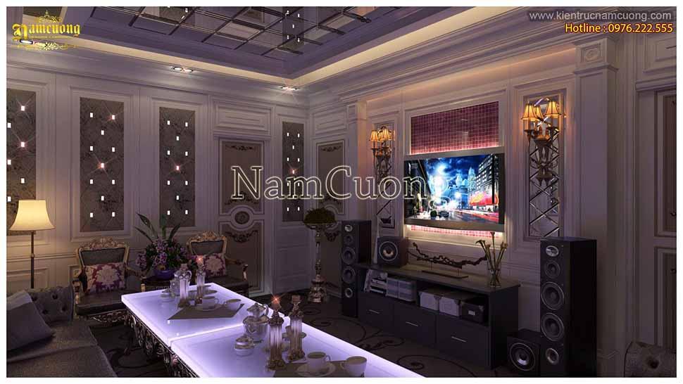 phòng karaoke tại gia