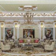 thiết kế phòng khách 35m2