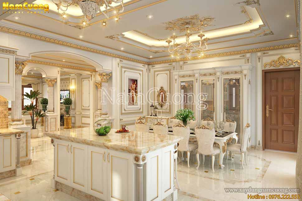 khu bếp nấu