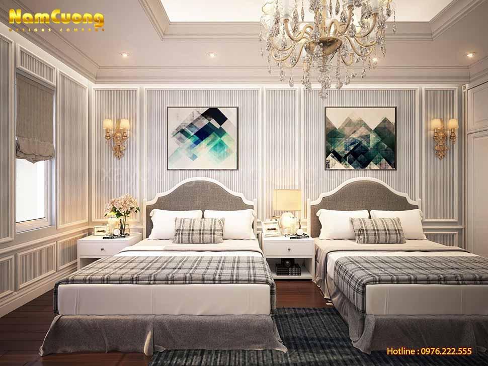 phòng ngủ cho gia đình đông người