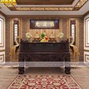 thiết kế phòng thờ cúng hẹp