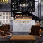 mẫu quán cafe vintage đẹp
