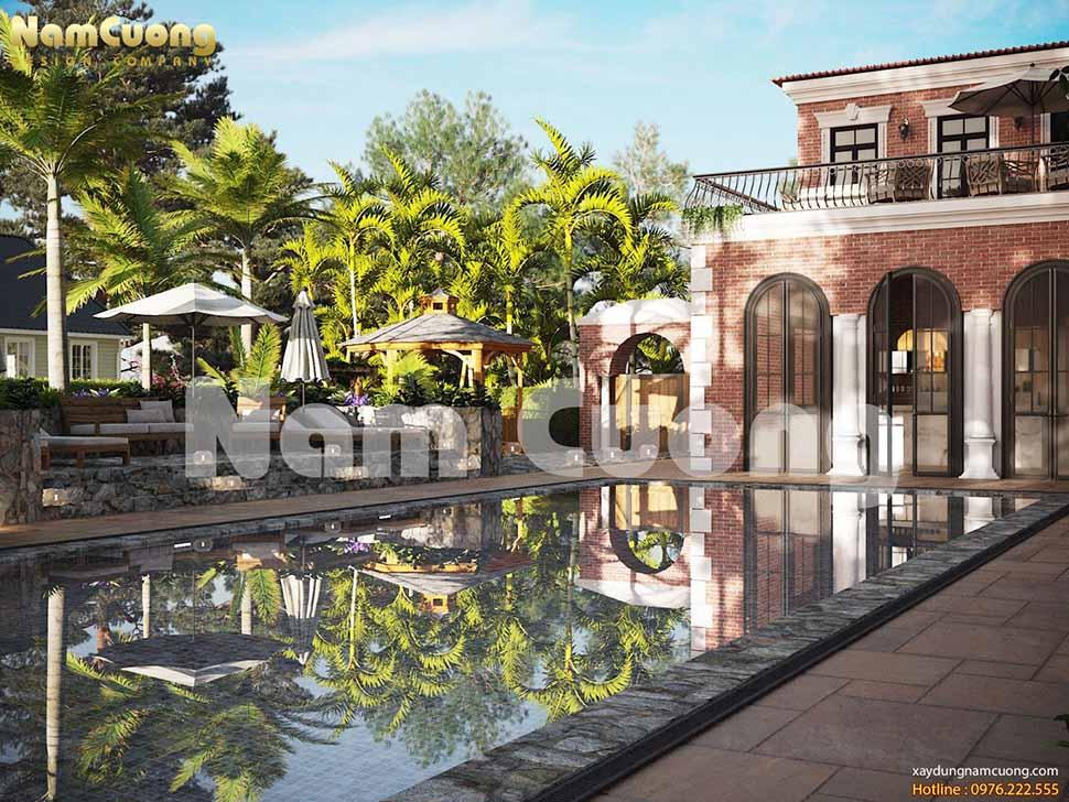 Resort mang phong cách hiện đại, ấn tượng