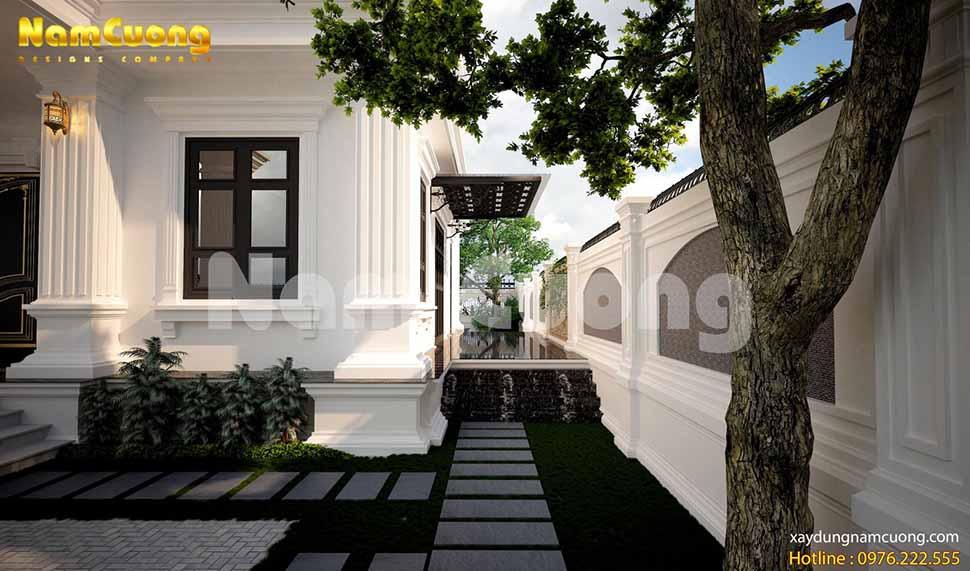 thiết kế sân vườn uy tín tại Hải Phòng
