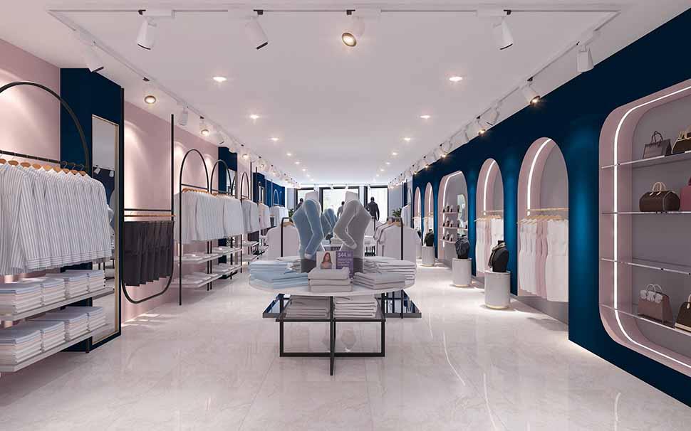 tầng 2 shop thời trang