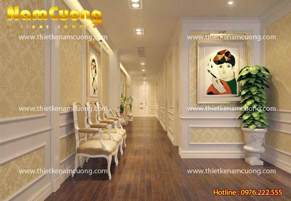 hành lang của spa