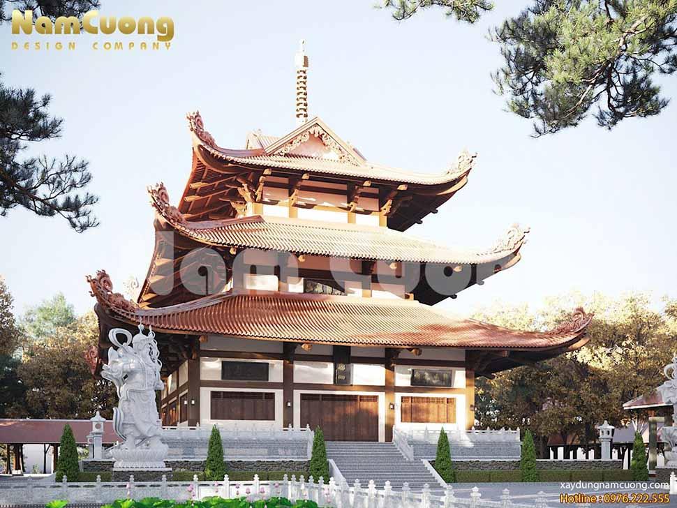 tháp chùa đẹp tại bình phước
