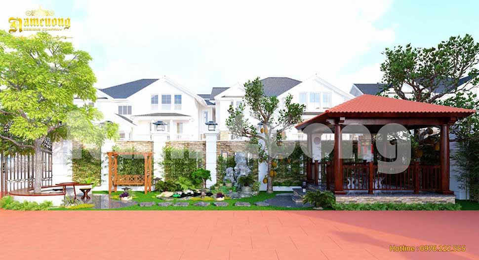 Nam Cường vừa hoàn thành thiết kế tiểu cảnh sân vườn cho công trình biệt thự tại Quảng Ninh
