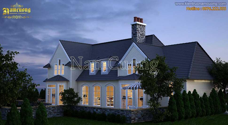 nhà ở phong cách châu âu