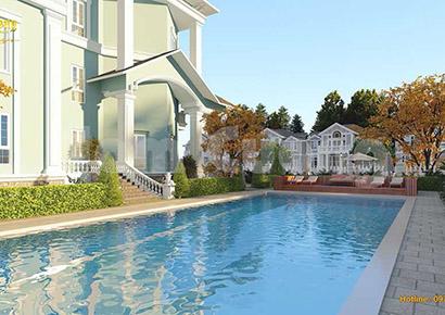 thiết kế biệt thự có bể bơi