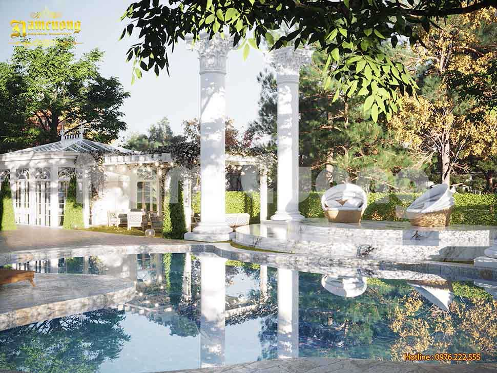 sân vườn biệt thự
