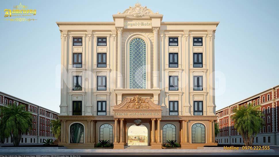 thiết kế khách sạn phong cách tân cổ điển