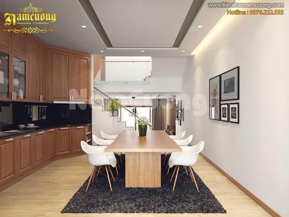 phòng bếp nhỏ hiện đại