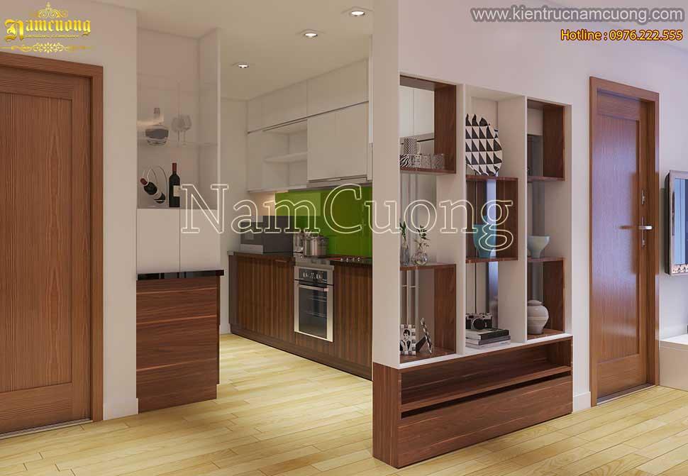 phòng bếp ăn chung cư