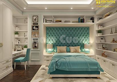 nội thất phòng ngủ chung cư tại Sài Gòn