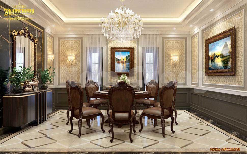 nội thất phòng ăn nhà hàng