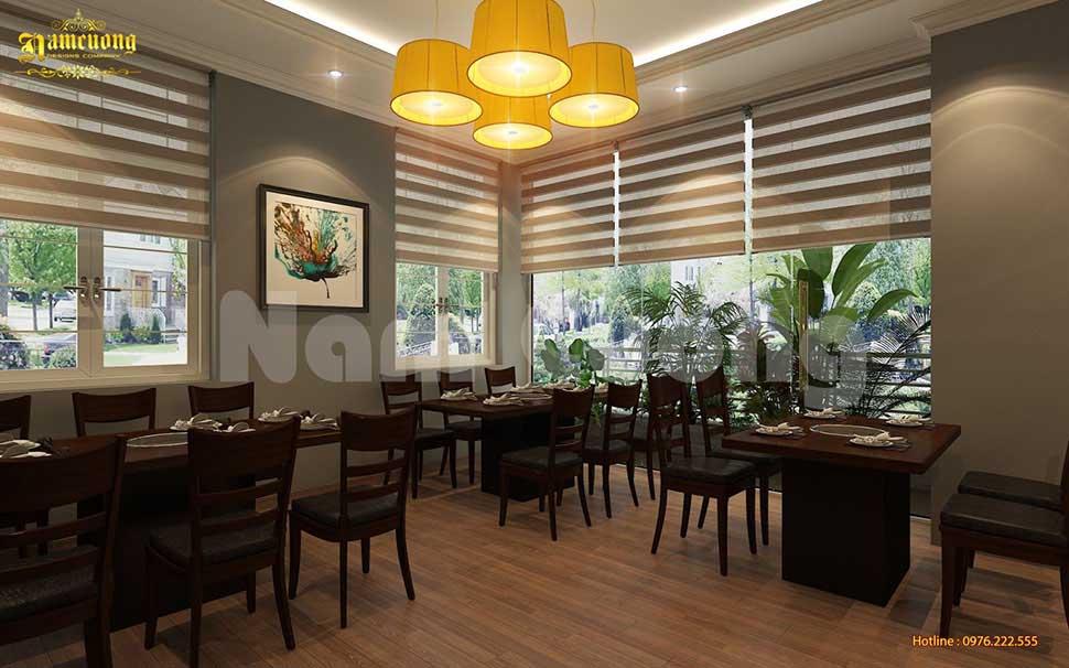 phòng ăn nhà hàng lẩu nướng