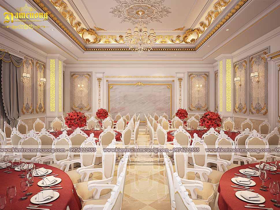 nội thất nhà hàng tiệc cưới