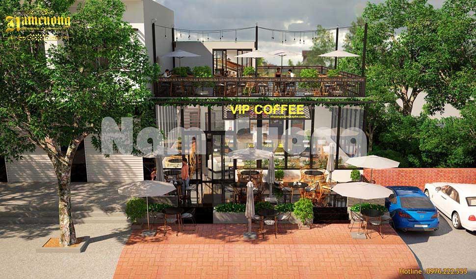 quán cafe sân vườn