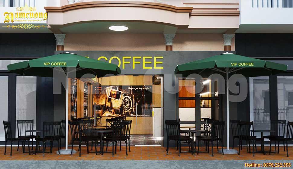 quán cafe 30m2