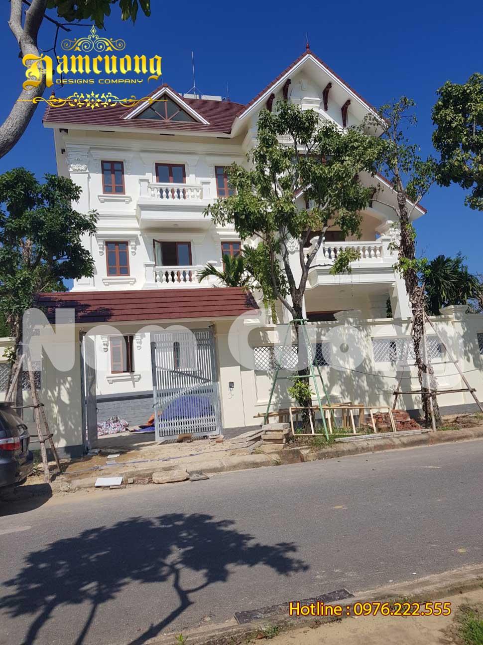 diện tích xây nhà 3 tầng
