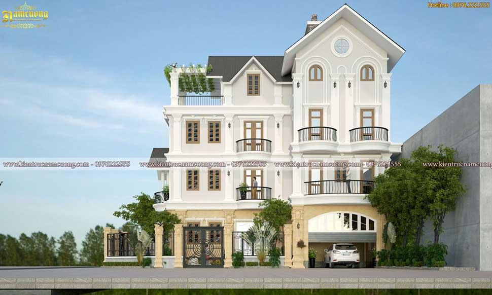 nhà 4 tầng 2 mặt tiền