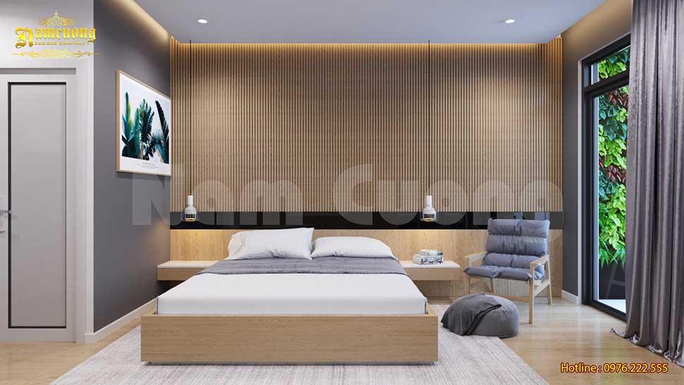 mẫu phòng ngủ biệt thự hiện đại