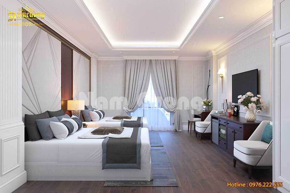 phòng ngủ đôi khách sạn