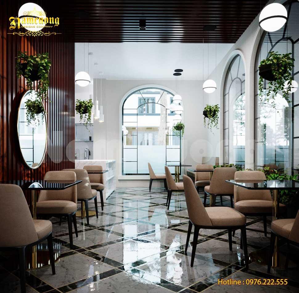 khu nhà hàng khách sạn