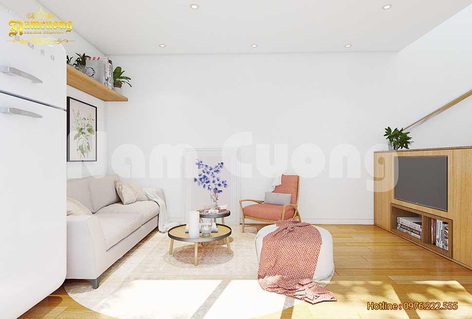 màu sắc nội thất nhà nhỏ