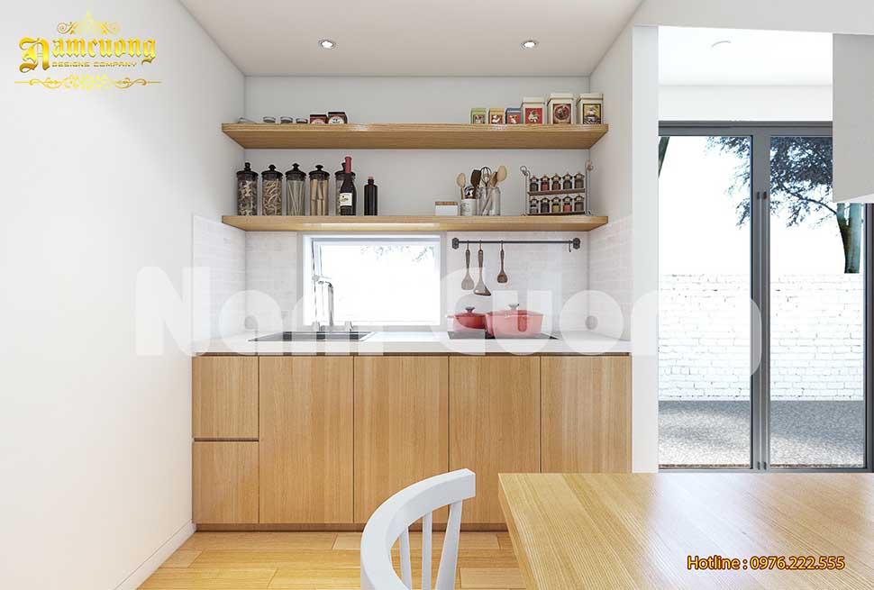 nội thất bếp nhà nhỏ