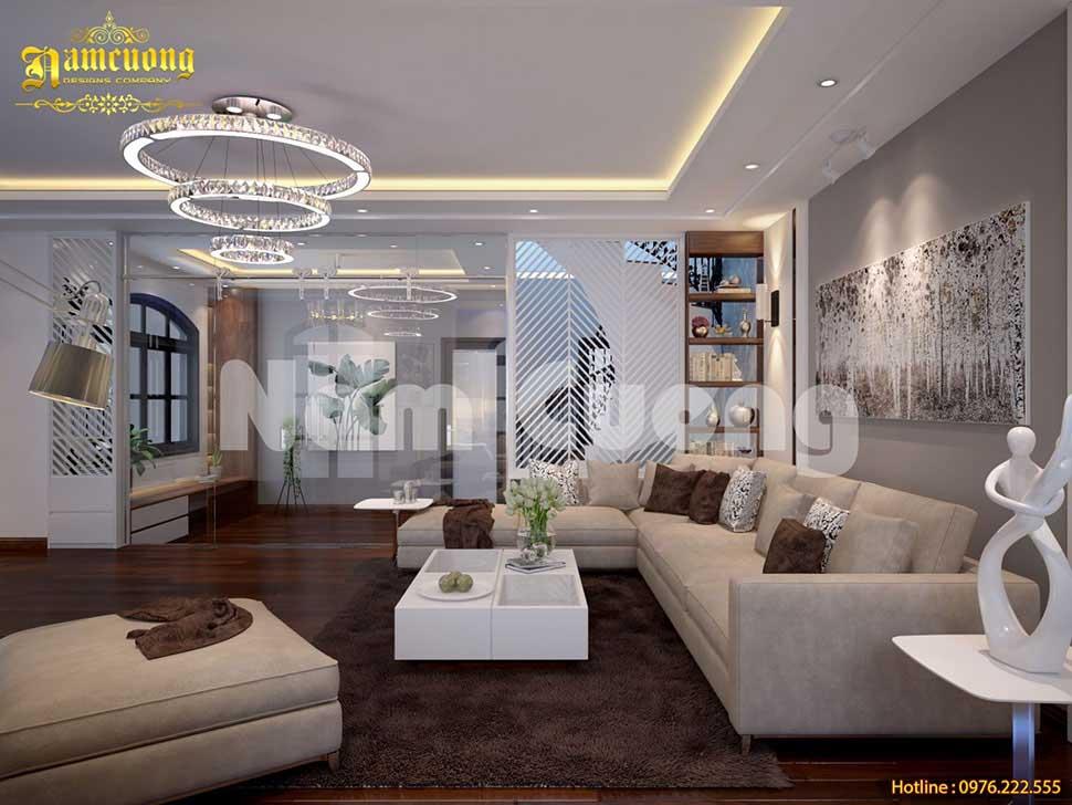 thiết kế không gian sinh hoạt gia đình