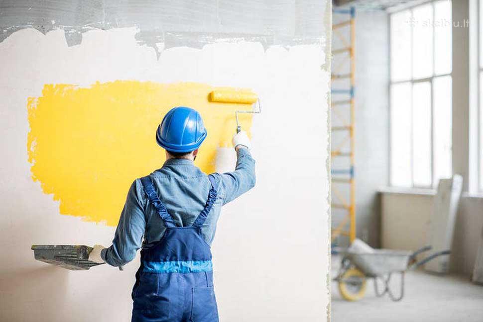 sơn tường biệt thự