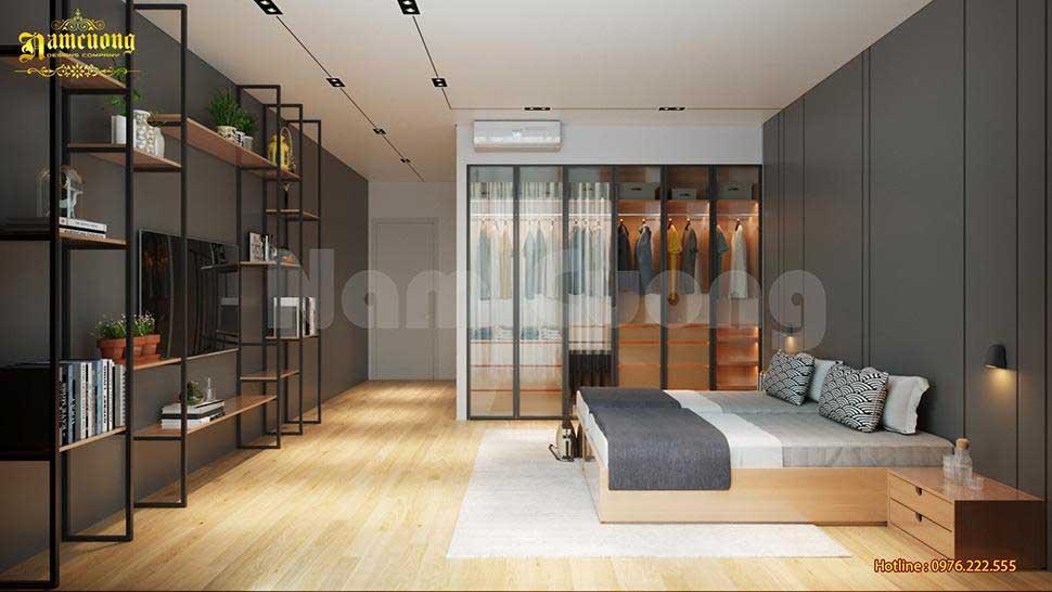 nội thất phòng ngủ biệt thự mini