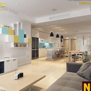 hạn chế vách ngăn nội thất chung cư