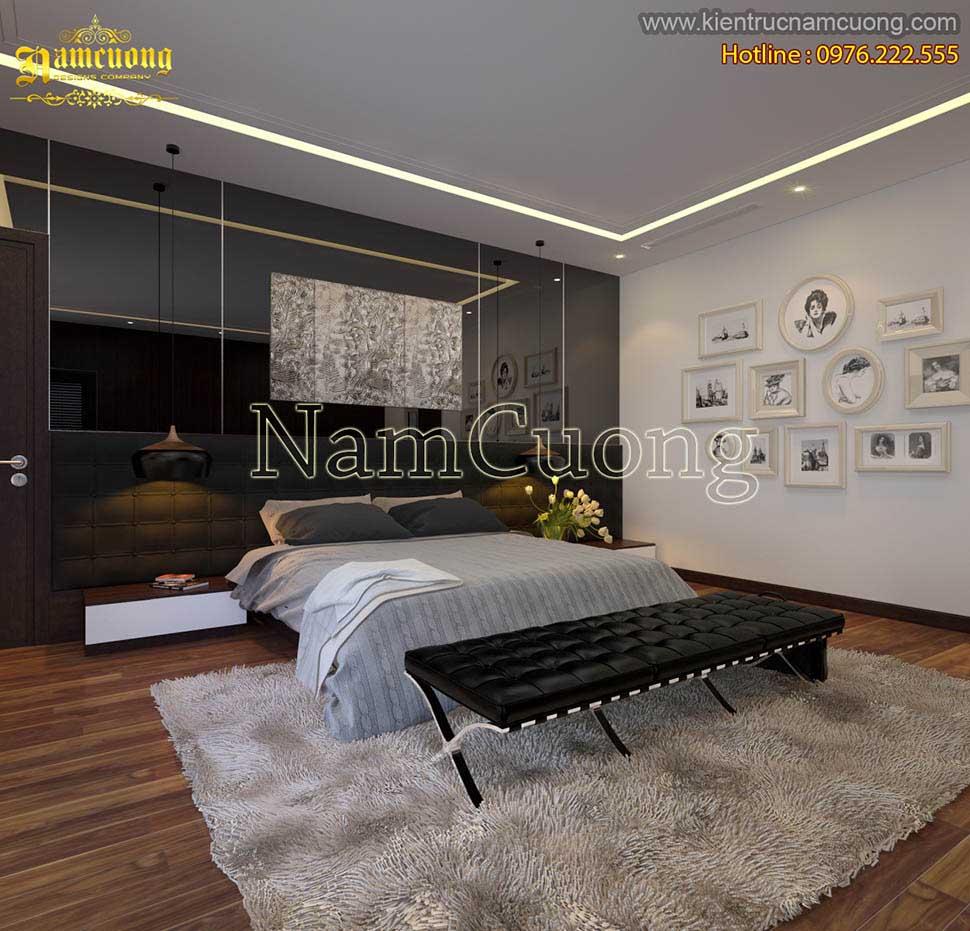 phòng ngủ trong chung cư
