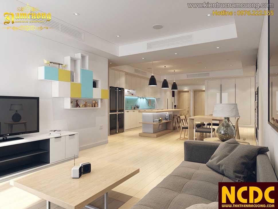 hạn chế vách ngăn cho căn hộ chung cư