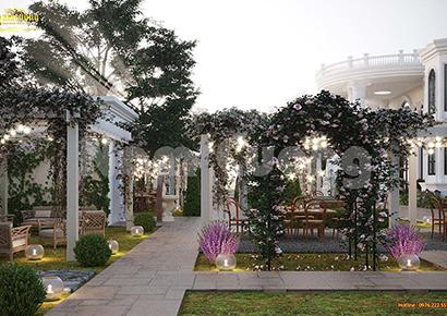 cảnh quan sân vườn resort